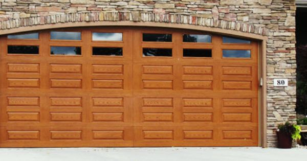 Fiberglass garage door model 982 impression collection for 6 horizontal panel doors