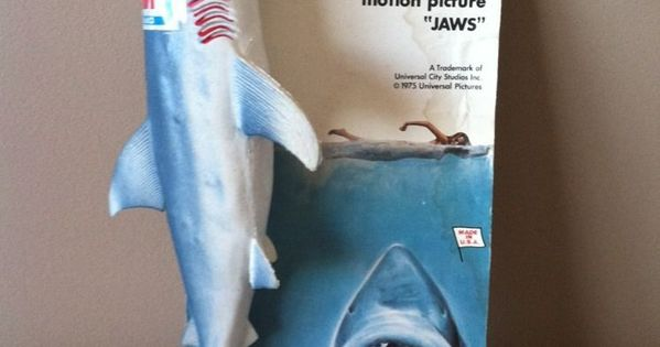 Jaws Rubber Shark Toy : Chemtoy jaws rubber shark toys from the s