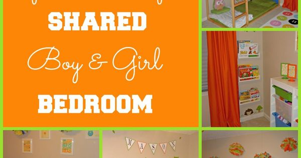 Shared boy and girl bedroom | Baby | Pinterest | Bedrooms ...