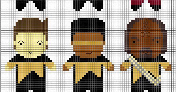 Star Trek: TNG cross stitch patterns c: