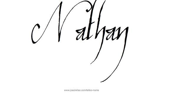 nathan name tattoo designs tattoo designs tattoo and tatting. Black Bedroom Furniture Sets. Home Design Ideas