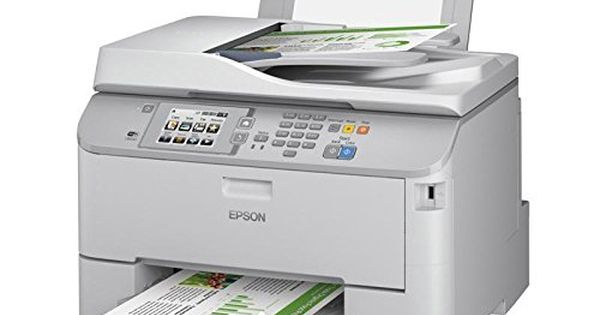 Epson Wp5620 Wireless Color Printer With Scanner Copier And Fax