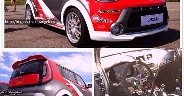finally i found some pictures of custom wrc on kia soul. Black Bedroom Furniture Sets. Home Design Ideas
