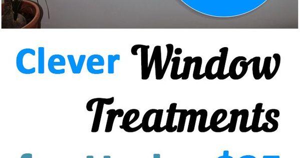 20 clever window window treatments for under 25 thuis projecten idee n en raam - Ingenious uses for cornstarch ...