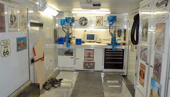 Reloading room in 20 shipping container AR15 Com