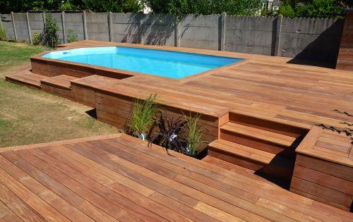 Intégrer des plantes dans ma terrasse en cumaru pool Pinterest