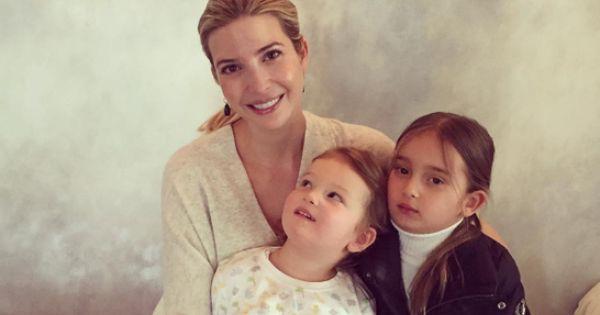 celebrity blogs celeb news ivanka trump kids adorably announce third pregnancy