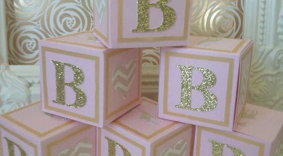 Custom Alphabet Blocks Baby Showers, Decorations   Oh Baby ...