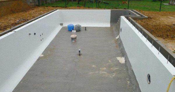 Para la colocaci n del gresite se emplear un cemento cola for Piscinas cemento construccion