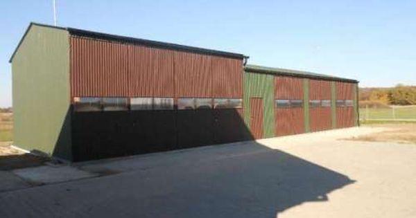 Das Ist Eine Garage Aus Blech Abmessungen 6 X 5 X 2 14m Stahlkonstruktion Besteht Aus Geschlossenen Profilen Fertiggaragen Stahlhalle Stahlkonstruktion
