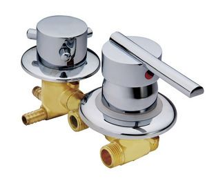 Customize 2 5 Way Water Outlet Copper Shower Room Mixer Faucet