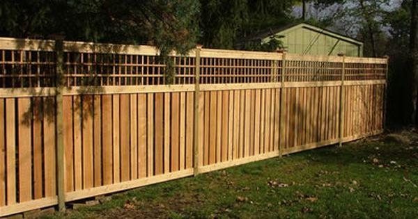 Pin By Top Notch Fence Company On Dream Board Backyard Backyard Fences Fence Design