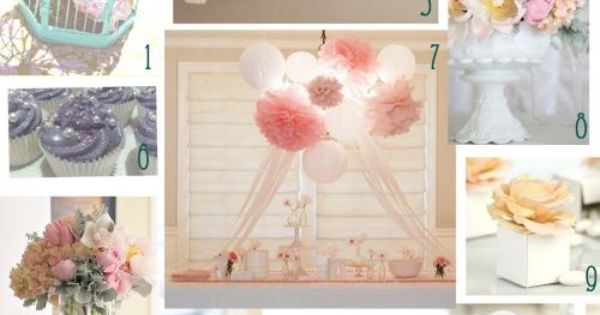 girl babyshower clothing centerpieces | Baby Shower Theme 2