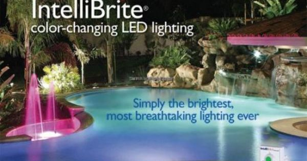 Pentair Intellibrite 5g Color Led Pool Light 120v Swimming Pool Equipment Pool Steps In Ground Pools