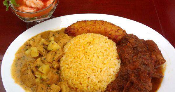 Plato tipico bandera travel guayaquil pinterest for Achiote ecuador cuisine