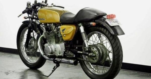 RocketGarage Cafe Racer: Honda CL 350