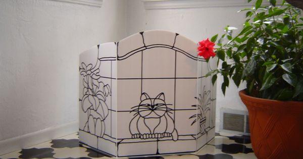 Litter Box Privacy Screen To Funny Decor Ideas