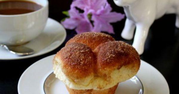 Cinnamon Sugar Dusted Bubble Top Brioche | Brioche, Cinnamon and ...