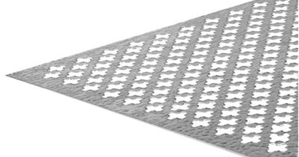 Steelworks 3 Ft X 24 In Cloverleaf Design Mf Aluminum Sheet 50 99 Aluminum Sheet Metal Decorative Sheets Sheet Metal