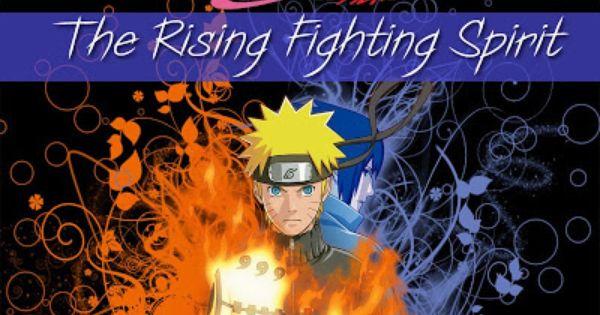 The Rising Fighting Spirit Naruto Ost C Naruto Vs Sasuke