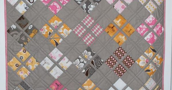 Daisy Baby Quilt by Pipers Girls | Quilting Pattern, free pattern for