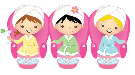 Girls Day Out Spa Party Spa Birthday Parties Spa Birthday