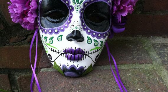 DIA DE LOS MUERTOS ☠~Day of the Dead~ Venetian mask