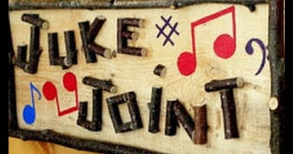 Pelley /'Sal/'s Juke Joint Entrance Sign/' Textual Art on Wrapped Canvas