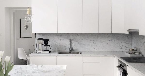 13 Winter White and Grey Rooms  부엌, 부엌 아이디어 및 싱크대