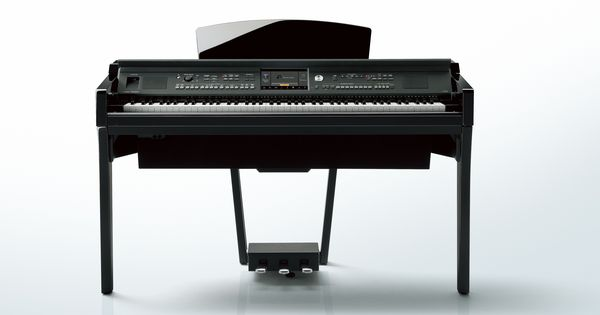 Yamaha clavinova cvp 609 digital piano in a polished ebony for Yamaha clavinova cvp 601