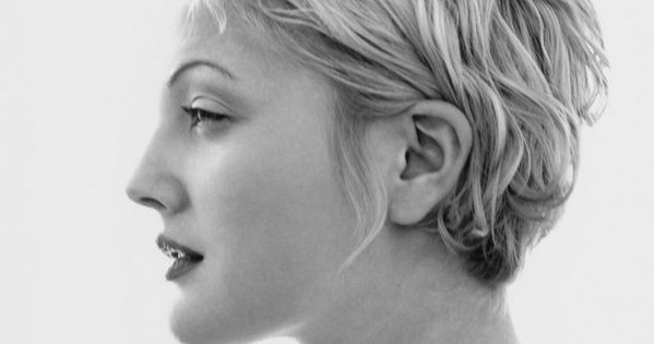 Drew Barrymore by icon Herb Ritts. I recreated this image once for