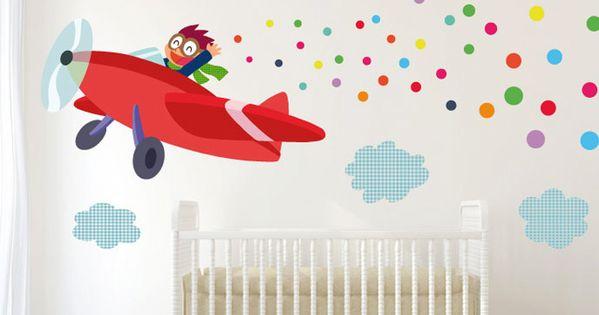 Vinilos infantiles para el cuarto del beb room babies - Decoracion habitaciones de bebe ...