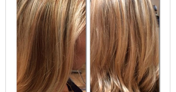 Highlight and low light hair color | My hair works | Pinterest ...