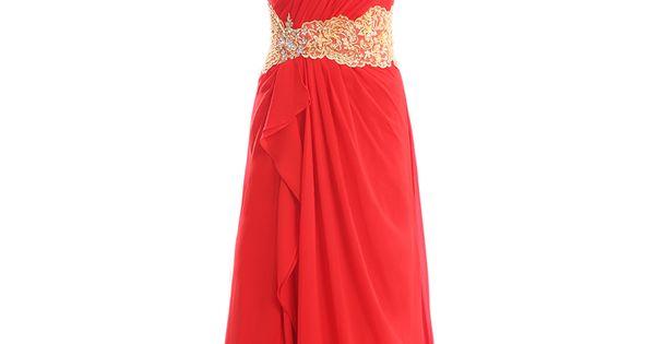 Natural waist sweep/brush train sleeveless chiffon elegant bridesmaid dress