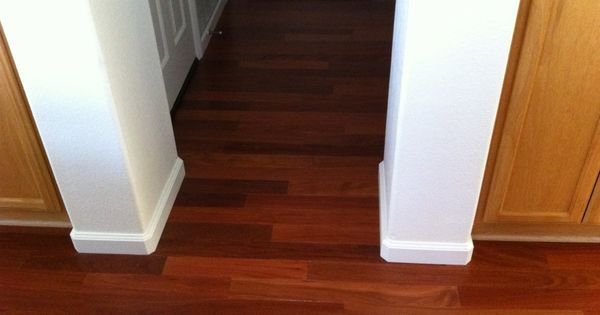 This is lauzon santos mahogany recently installed in a for Hardwood flooring 76262