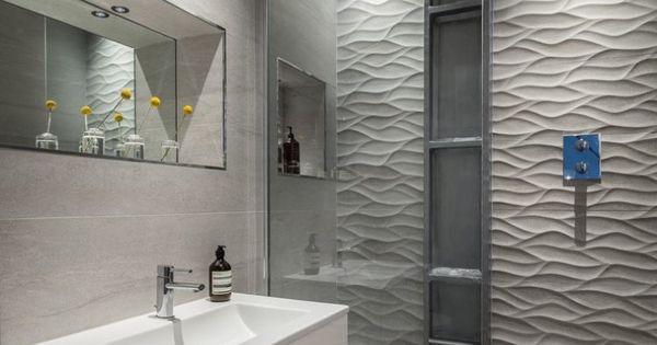 Comment agrandir la petite salle de bains 25 exemples for Porcelanosa carrelage mural