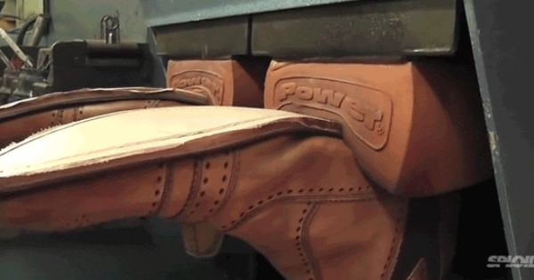 This Shoe Repair Video Can Provoke Intense Pleasure Waves Shoe Repair Repair Videos Leather Repair