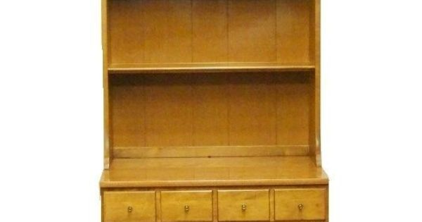"""Ethan Allen Corner Cabinet: Ethan Allen Heirloom Nutmeg Maple CRP 30"""" Shutter Door"""