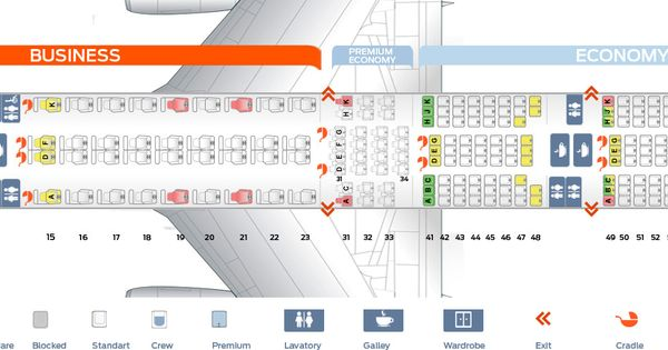 Singapore Airlines Fleet Boeing 777 300er Details And Pictures Singapore Airlines Fleet Boeing 777 300er Configuration Sq B777 300er Seat Map Seating Chart