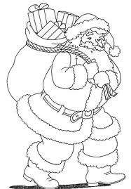 Dibujos Y Plantillas Para Imprimir Papa Noel Hojas De Navidad Para Colorear Dibujo De Navidad Arbol De Navidad Para Colorear