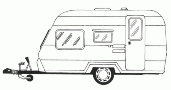 Pin Von Mandie Walter Auf Les Moyens De Transport Wohnwagen Ausmalen Ausmalbilder