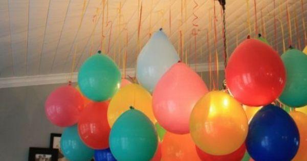 Party decor balloons decor
