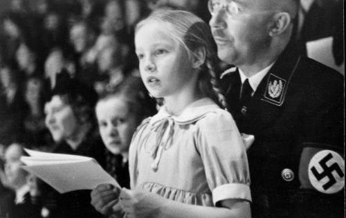 heinrich himmler and hitler relationship with niece
