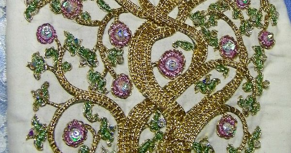 Tree of life bead embroidery quilters club america