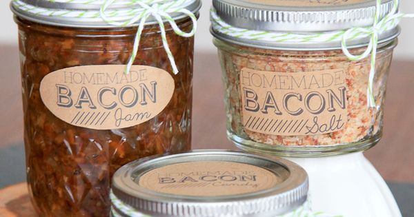 Bacon Jam, Bacon Salt, and Bacon Candy and 16 other awesome food