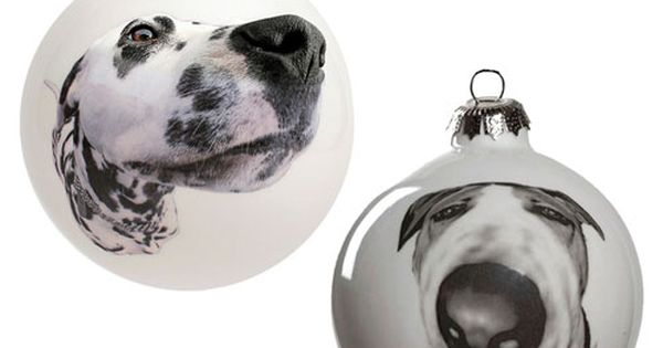 Christmas is just around the corner! check out these custom doggy ornaments