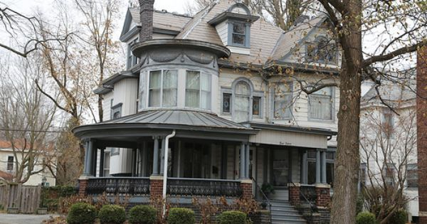 Barber House : Barber house in Dehphi Indiana, Carroll County IN Barber houses ...