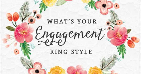 what is your engagement ring style Wedding Chicks Inspiration: What is your