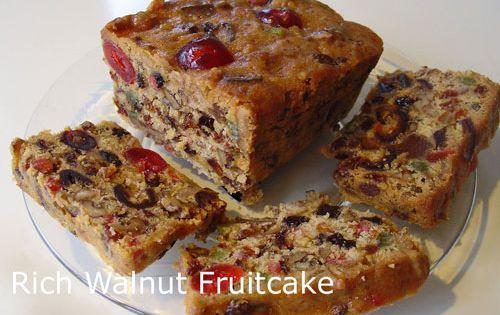 Cake Recipe Rich Walnut Fruitcake Recipe Http
