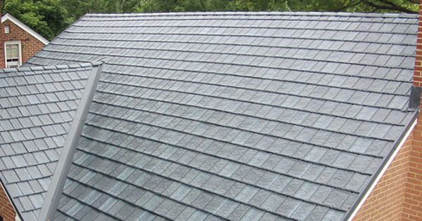 Arrowline Metal Slate Roofing Combines Old World Charm And